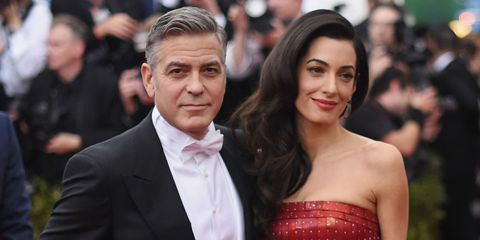George Clooney and Amal | ELLE UK