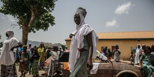 Women in the Nigerian city of Maiduguri | ELLE UK