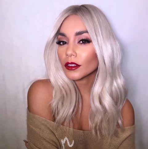 Vanessa Hudgens Blonde Hair