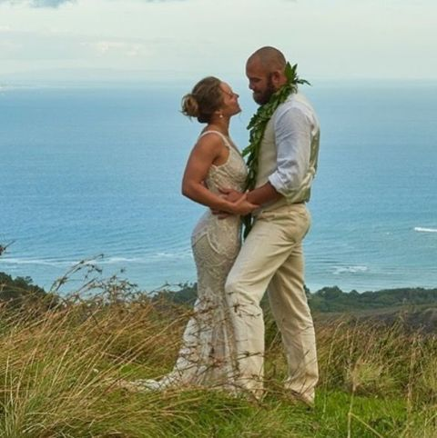 Ronda Rousey Wedding