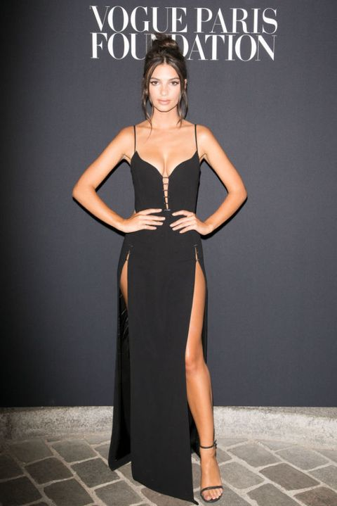 Model Emily Ratajkowski attends Vogue Foundation Dinner during Paris Fashion Week as part of Haute Couture Fall/Winter 2017-2018 at Musee Galliera on July 4, 2017 in Paris, France | ELLE UK