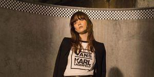 The Vans x Karl Lagerfeld collaboration | ELLE UK