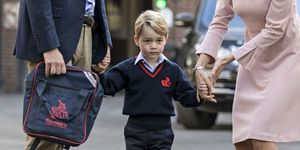 Prince George starts primary school