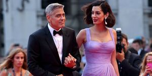 George and Amal Clooney in Venice