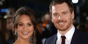 Alicia Vikander And Michael Fassbender | ELLE UK