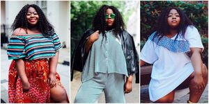 Stephanie Yeboah, plus-size blogger, writer and model | ELLE UK