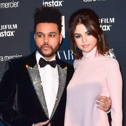 The Weeknd and Selena Gomez   ELLE UK