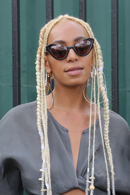 Solange Blonde Hair