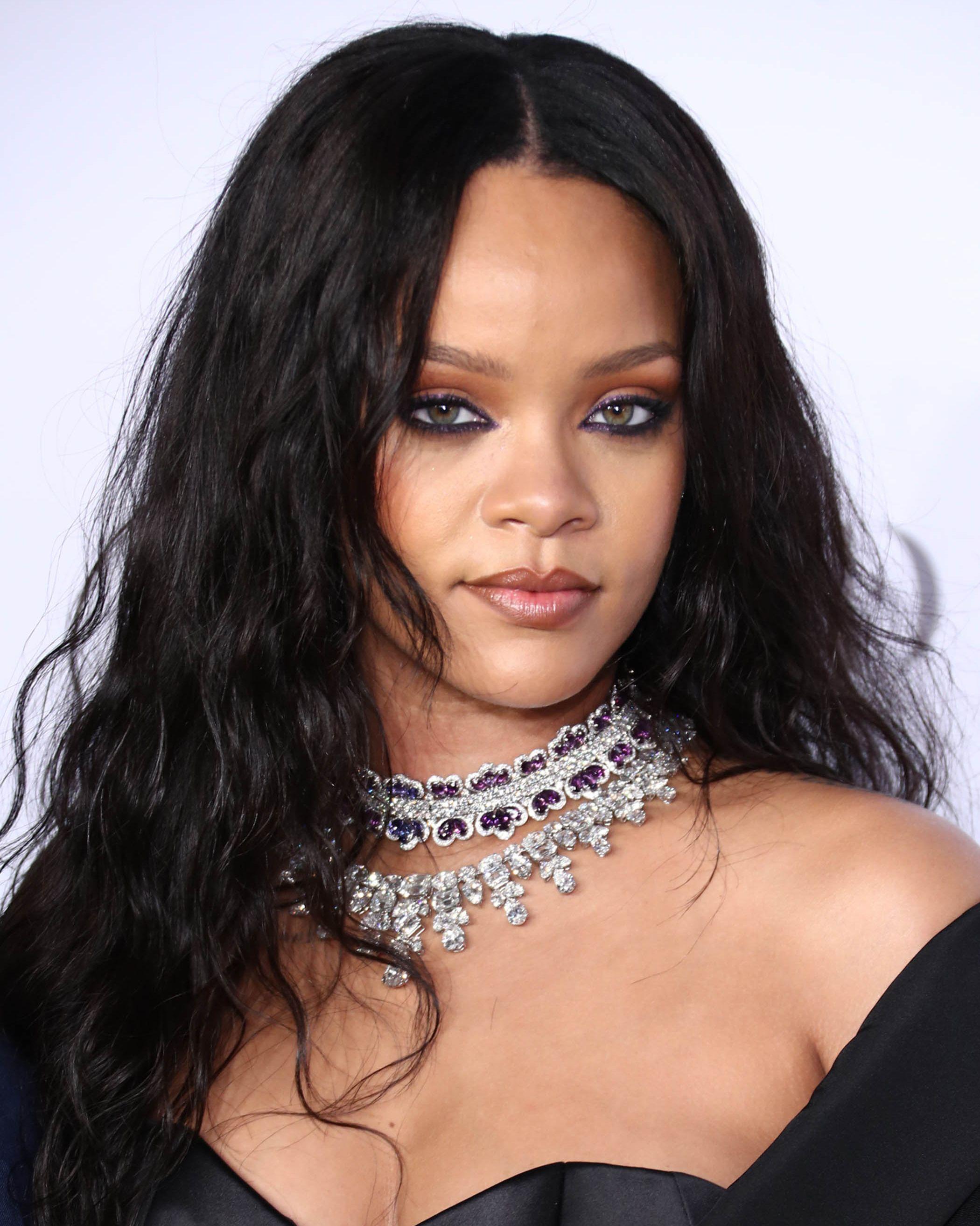 Rihanna Long Black Hair
