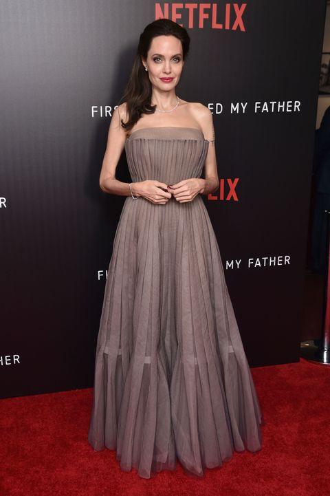 Angelina Jolie Wearing Dior