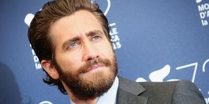 Jake Gyllenhaal attends the 'Everest' photocall during the 72nd Venice Film Festival on September 2, 2015 in Venice, Italy | ELLE UK