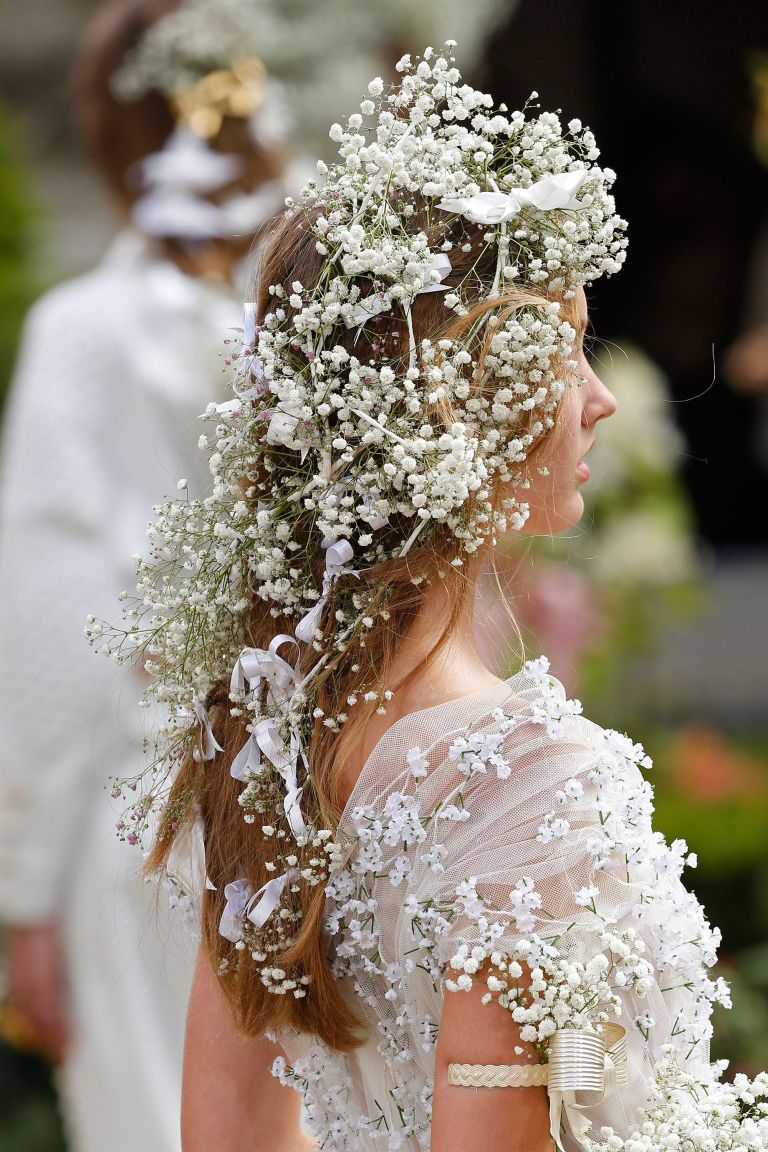 Kirsten Dunst S Romantic Rodarte Hair Is The Only Way To Wear A