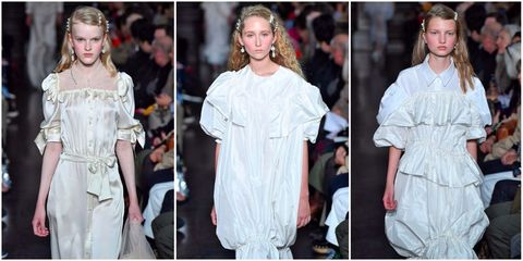 Simone Rocha runway SS18 at London Fashion Week | ELLE UK