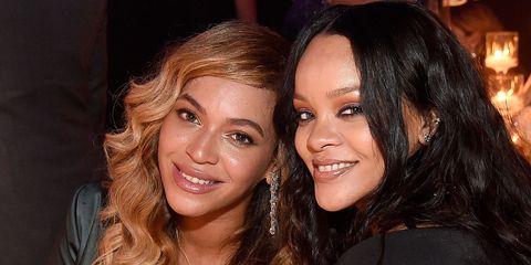 Beyonce and Rihanna film   ELLE UK