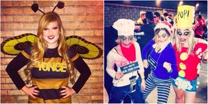 Pun Halloween costumes | ELLE UK