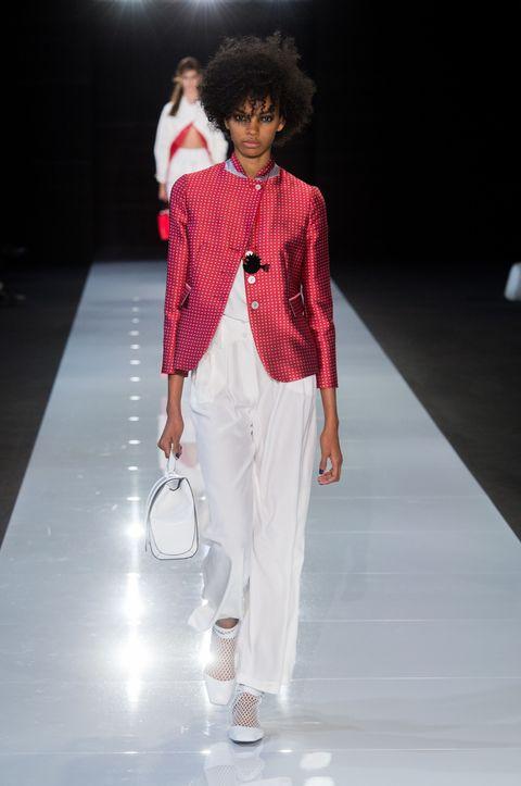 Emporio Armani's Spring/Summer 2018 Show At London Fashion Week