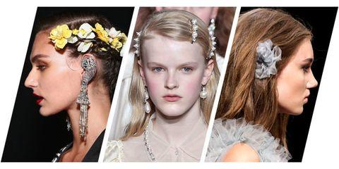 Hair, Hairstyle, Headpiece, Beauty, Hair accessory, Long hair, Fashion accessory, Fashion, Headgear, Bridal accessory,