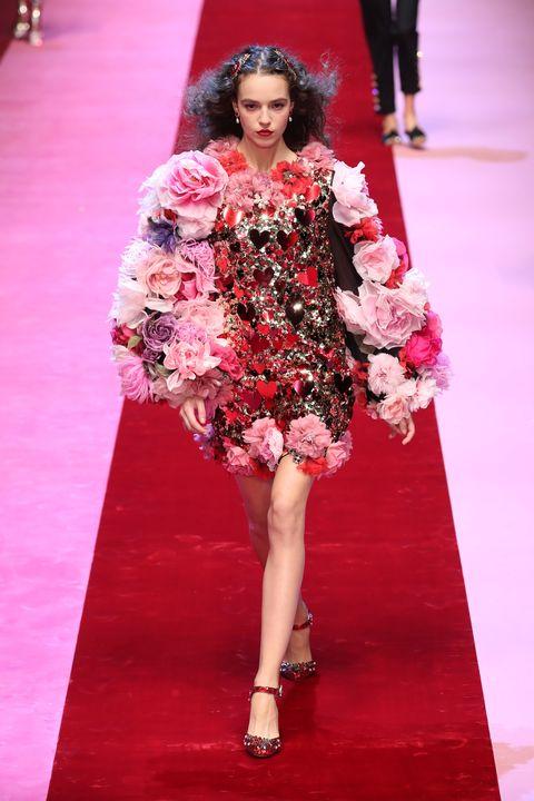 Dolce & Gabbana ss18 milan fashion week runway