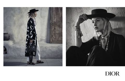 Dior A/W campaign photography | ELLE UK