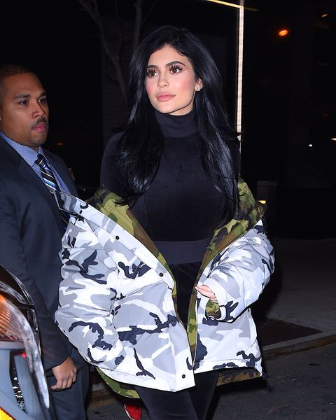 Kylie Jenner out