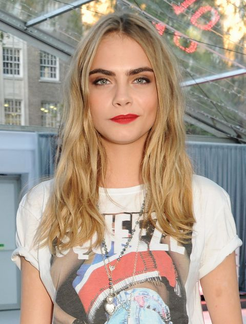 Cara Delevingne Hair Every One Of Cara Delevingne S Hair Styles