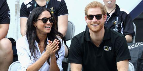 Meghan Markle and Prince Harry   ELLE UK