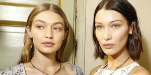 Bella Hadid Gigi Hadid fashion week september 2018