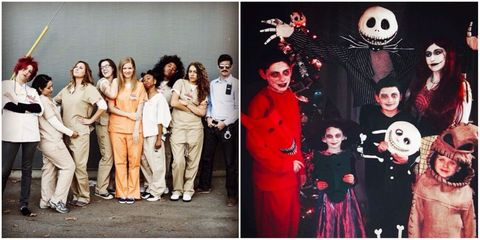 halloween group costumes elle uk