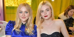 Dakota And Elle Fanning Miu Miu SS18