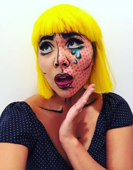Basic Halloween Makeup Easy.Easy Halloween Beauty Looks You Can Do With Products In Your