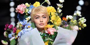 Gigi Hadid moschino fashion show halloween costume idea