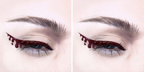 The Creepiest Halloween Eyeliner Looks For Your Spookiest Side Eye Ever