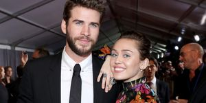 Miley Cyrus and Liam Hemsworth | ELLE UK