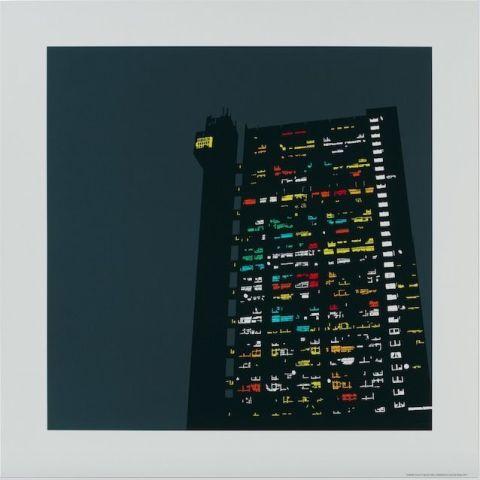 Trellick Tower Print Cool Christmas Gifts For Men | ELLE UK