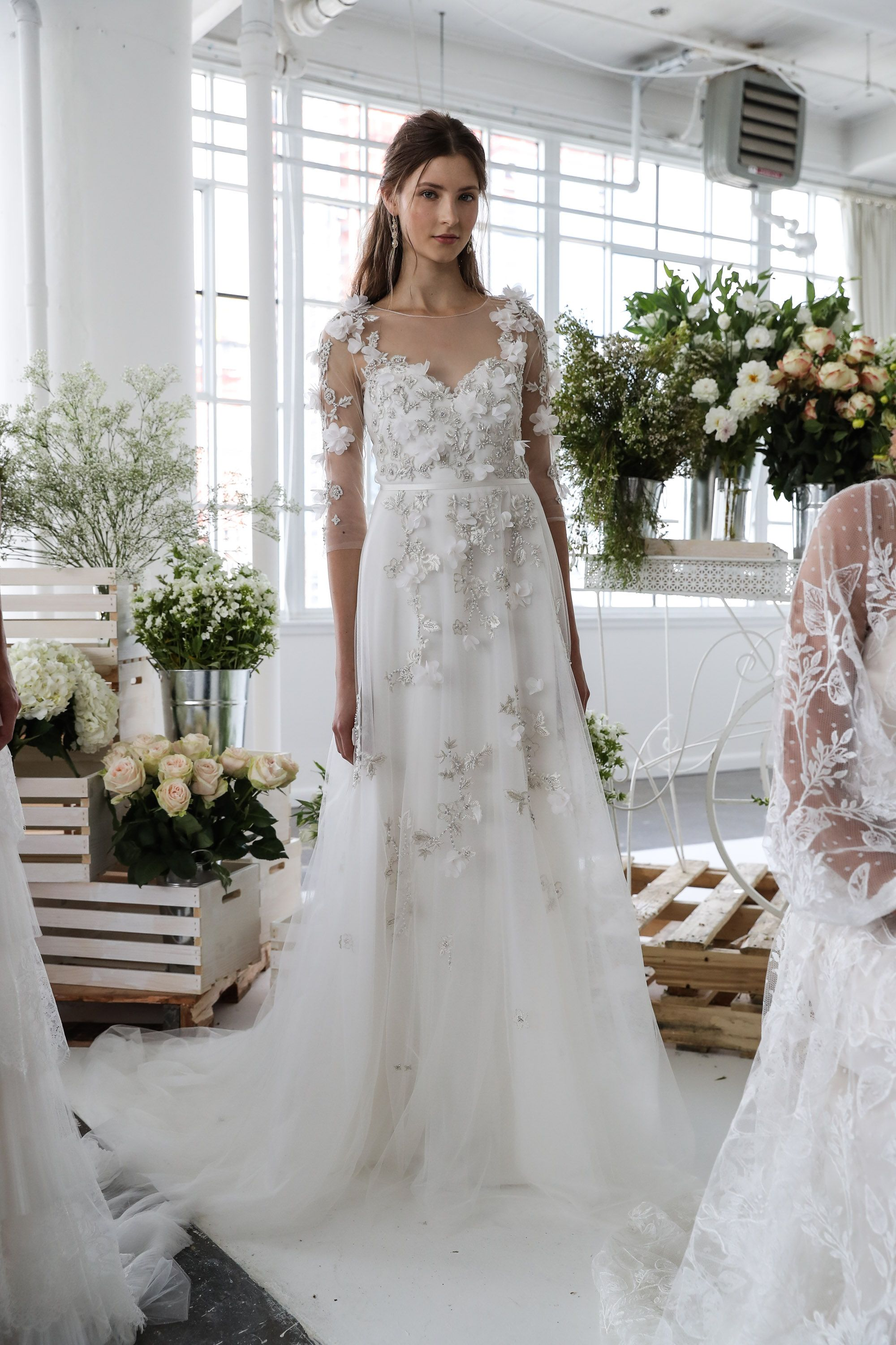Wedding Dress Trends 2018 6 Bridal Fashion Week Trends