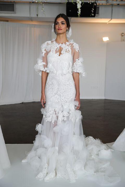 wedding dress trends - bridal fashion week 2018