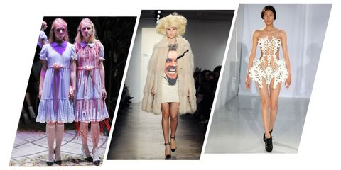Fashion model, Clothing, Fashion, Dress, Runway, Pink, Haute couture, Cocktail dress, Fashion design, Footwear,