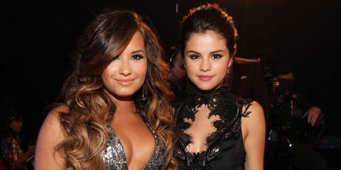 Demi Lovato and Selena Gomez | ELLE UK