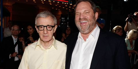 Woody Allen and Harvey Weinstein | ELLE UK