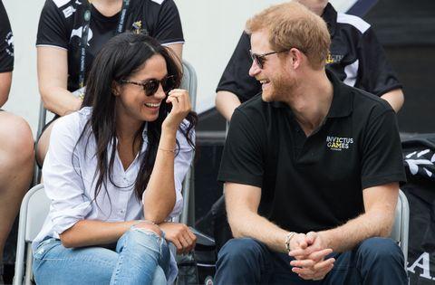 Meghan Markle and Prince Harry | ELLE UK
