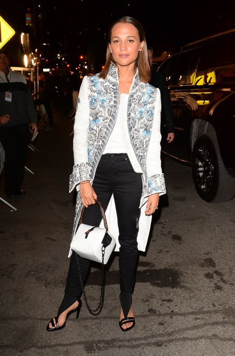 Alicia Vikander Style File Every One Of Her Effortlessly Cool And Glamorous Red Carpet Looks