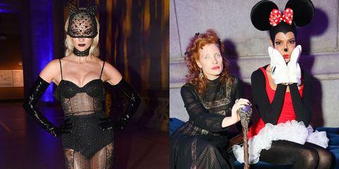 celebrity halloween costumes elle uk