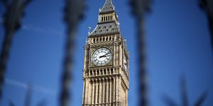 Elizabeth Tower, commonly called Big Ben, is pictured on April 1, 2015 in London, United Kingdom | ELLE UK
