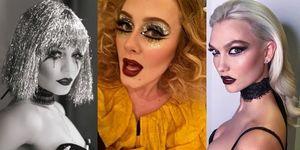 Celebrity Halloween Makeup