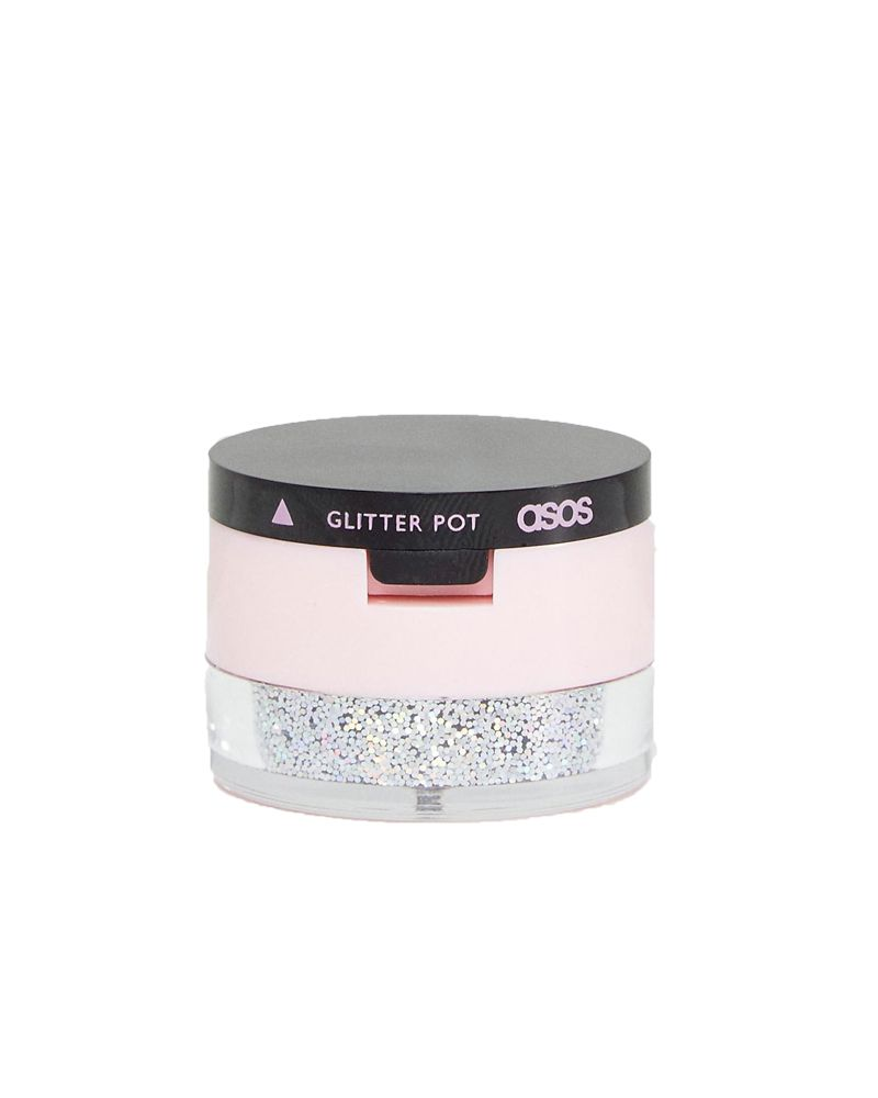 ASOS Make-Up Dual Glitter Pot In Mindful - Beauty Gift Guide Stocking Fillers Under £15