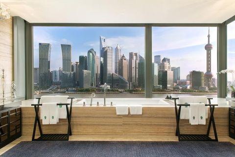 Property, Building, Room, Real estate, Skyline, Wall, Human settlement, Roof, Deck, Condominium,