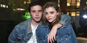 Brooklyn Beckham and Chloe Moretz   ELLE UK