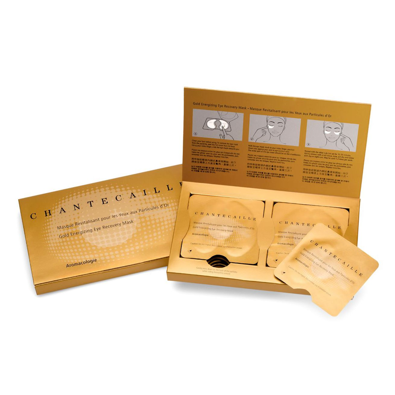 Chantecaille Gold Energising Eye Recovery Mask