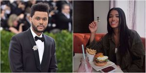 the Weeknd and Ventura | ELLE UK