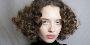 Curly Hair Dior